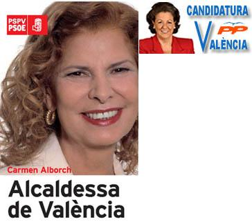 Les candidates de València
