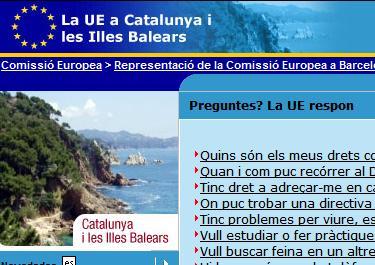 La UE en català
